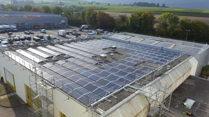 Solar Plant Meyrin