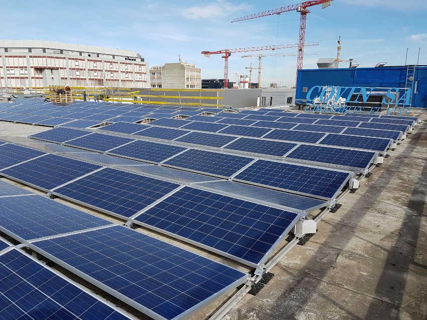 centrale solaire de Covin