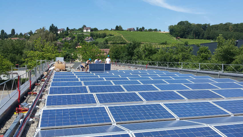 centrale solaire de Echandens