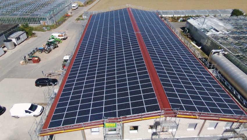 centrale solaire de Bernex